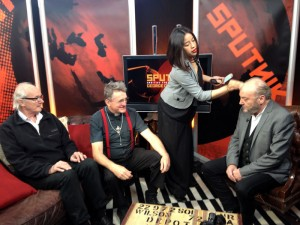with George Galloway and Gayatri on 'Sputnik'